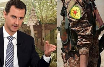 YPG'li teröristler fena tutuştu
