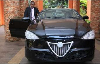 Afrika ülkesi ilkhibrit aracını üretti