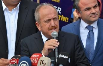 AK Parti Çorum İl Başkanı Karadağ görevinden istifa etti