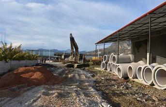 Alanya'da yağmur suyu sorunu çözülüyor