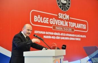 Bakan Soylu'dan kritik açıklama: Terör örgütü burada pozisyon almak isteyecektir