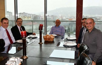 Başkan Şahin, Cemal Yeşilyurt'a misafir oldu