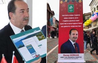 Belediye Başkanı tepki çeken afiş için ne dedi?
