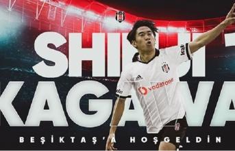 Beşiktaş Kagawa'yı bu videoyla açıkladı