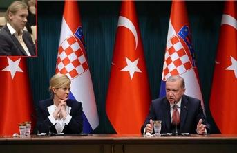 Beşiktaşlı yıldız Erdoğan'ın basın toplantısında