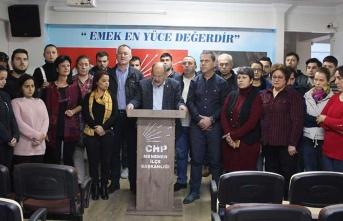 CHP'den bir ilçede daha istifa haberi!