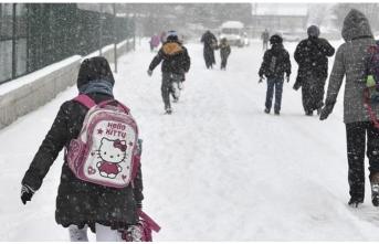 Çorum'da okullar tatil mi? (7 Ocak pazartesi)