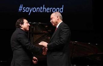 Cumhurbaşkanı Erdoğan'dan Fazıl Say yorumu: Bize düşen...