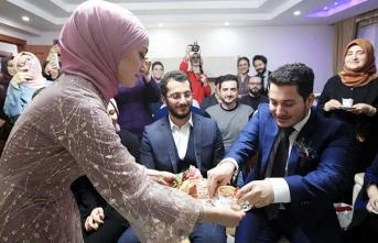 Erdoğan telefonla istedi, yüzükler takıldı