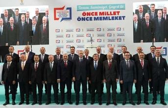 Cumhurbaşkanı Erdoğan AK Parti'nin Trabzon adaylarını açıkladı