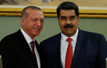 Erdoğan ile Maduro telefonda görüştü
