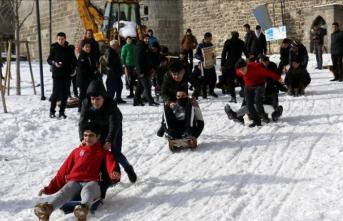 Erzurum'da 'Geleneksel Kızak Şenliği' yapıldı