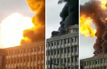Fransa'da bir üniversitede patlama