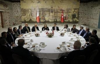 Fuat Oktay'dan, Malta Cumhurbaşkanı onuruna yemek