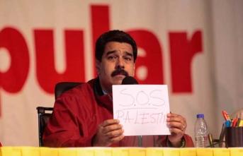 Gazze'den Maduro'ya destek