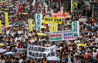 Hong Konglular Çin'in başını ağrıtıyor