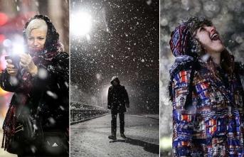 İstanbul'da merakla beklenen kar yağışı başladı... Ne kadar sürecek?