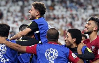 Katar BAE'yi farklı yenerek Asya Kupası'nda finale yükseldi