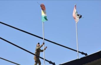 Kerkük'teki bayrak krizi devam ediyor