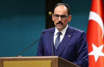 İbrahim Kalın açıkladı: 'Kontrolü Türkiye'de olacak'