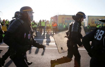 Şiddet Paris'in dışına sıçradı