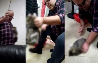 Tekstilci iş adamından korkunç video! Gözaltına alındı