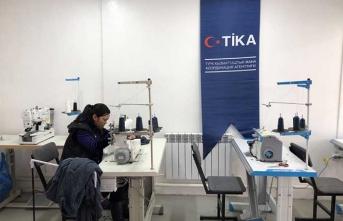 TİKA'dan Kırgız kadınlara destek