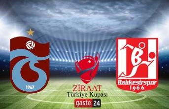 Trabzonspor Balıkesirspor maçı ne zaman, saat kaçta, hangi kanalda?