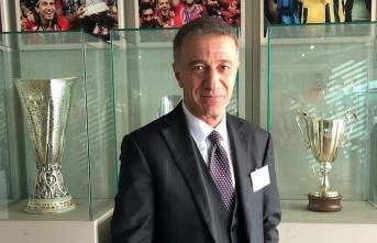Trabzonspor Başkanı Ağaoğlu'ndan UEFA açıklaması