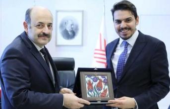 Yurtdışı Türkler ve Akraba Topluluklar Başkanı'ndan YÖK'e ziyaret