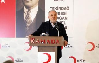 '147 ülkede insani yardım faaliyeti gösterdik'