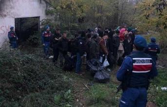 8'i kadın, 19'u çocuk… Balıkesir'de yakalandılar