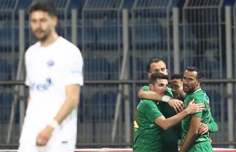 Akhisarspor yarı finale yükseldi