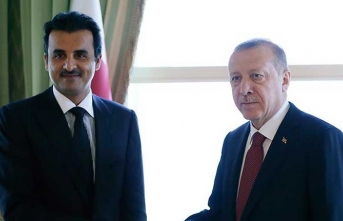Başkan Erdoğan'dan Katar Emiri'ne tebrik telefonu