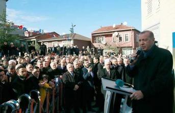 Başkan Erdoğan'dan kentsel dönüşüm uyarısı