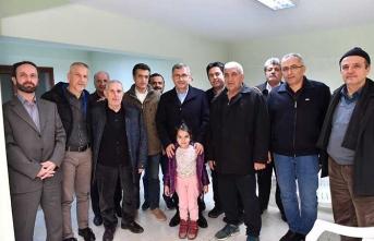 Başkan Türkmen'in site gezileri tüm hızıyla devam ediyor