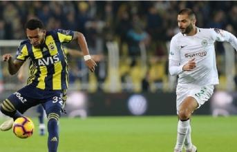 Fenerbahçe evinde Konyaspor engelini aşamadı
