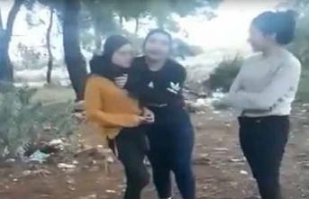 Genç kıza ormanda işkence!