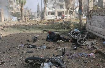 İdlib'de bombalı saldırı: Çok sayıda ölü var