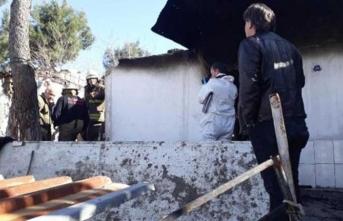 İzmir'de facia! Anne ile bebeği yangında öldü