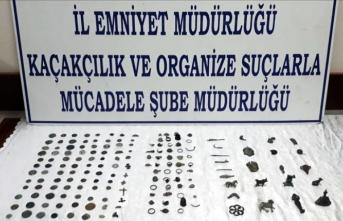 Kayseri'de tarihi eser operasyonu