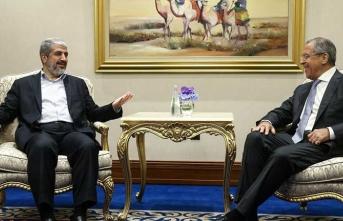 Lavrov, Hamas ve Fetih yöneticileriyle görüştü