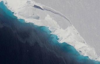 NASA Antarktika'da devasa çukur keşfetti