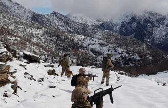 PKK ile mücadele hız kesmeden devam ediyor