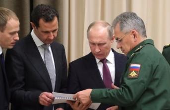 """Rusya ve Esed rejiminden ortak açıklama! """"Suriye'den çekil…"""""""