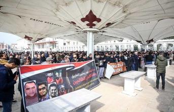 Sisi'nin idam ettiği gençler için gıyabi cenaze namazları