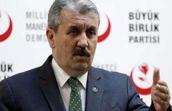 BBP, İstanbul'da kimi destekleyeceğini açıkladı
