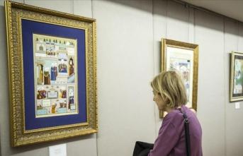 'Süleymanname' minyatür sergisi açıldı