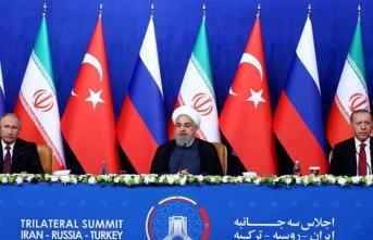 'Suriye' konulu Üçlü Zirvede liderlerden kritik açıklamalar