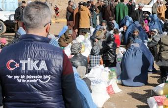 TİKA'dan Afgan ihtiyaç sahiplerine yardım